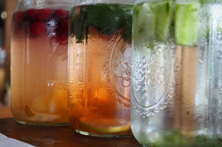 Infused Water with Herbs