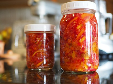 Atsara pickled vegetables